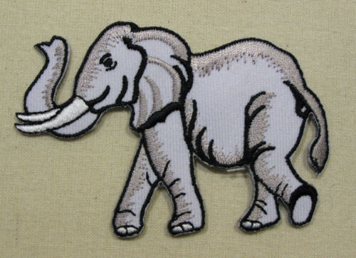 ELEPHANT  Iron On//Sew On Embroidered Patch