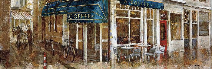 Noemi martin  coffee stretcher-image screen rue scene paris cafe
