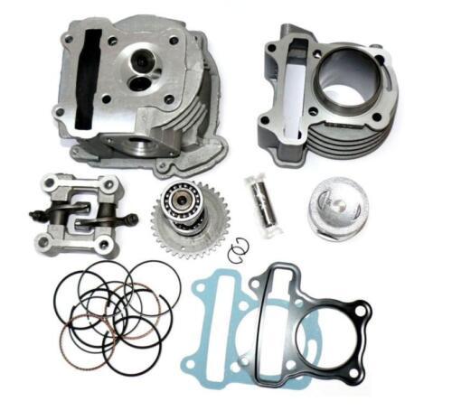 KR Zylinder Satz 80 ccm 47mm Cylinder kit Qingqi QM50QT-6D 50 DT 4T Koala  14