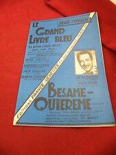 Partitur Le grand buches blau Besame quiereme Don Diego Cha Cha Cha