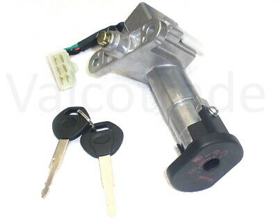 Ignition Barrel Switch fits SYM Symply Jet 125 125cc Lock Set /& Keys Fiddle