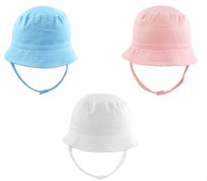 Baby Summer Hat Beach Hat Bucket Cap Sun Newborn Toddler 0-12M for Boy Girl New