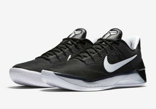 super popular 1b449 023ff Nike Kobe 12 A.D. EP XII Black White Bryant Basketball Shoes 852425-001  Size 18