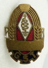 GST685d In Gold Amateurfunk Leistungsabzeichen vgl. Band VII Nr. 685 d