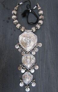 Vintage-Coin-Bib-Necklace-Choker-Gypsy-Boho-Tribal-Hot-Fashion-Jewelry