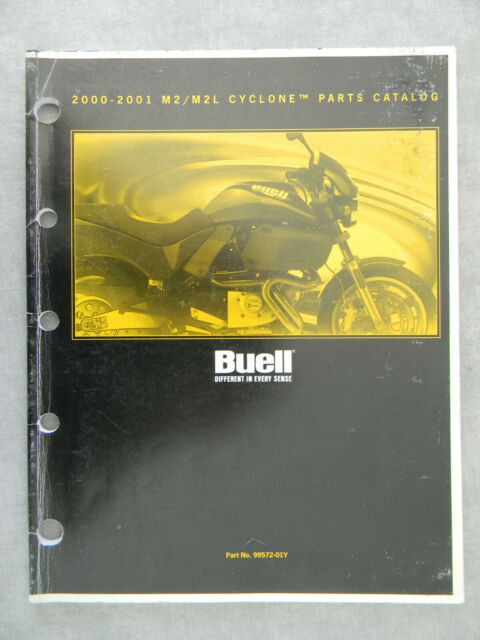 Buell 2000 M2l Cyclone Parts Catalog 99572