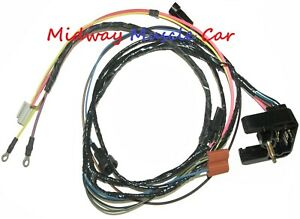 68 Pontiac Firebird V8 HEI engine wiring harness | eBay | Pontiac Wiring Harness Ebay |  | eBay