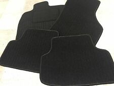 Passform Fußmatten für VW Golf 2 in schwarz mit Struktur geräuschehemmend
