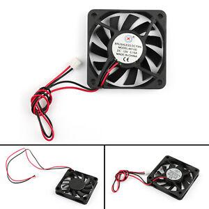 4x-DC-Brushless-Ventilateur-de-Refroidissement-12V-0-15A-6010s-60x60x10mm-2-Pin