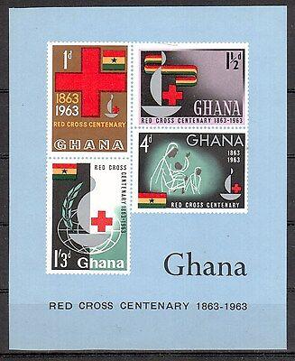 Niedriger Preis Ghana Michelnummer Block 8 Postfrisch Übersee : 746