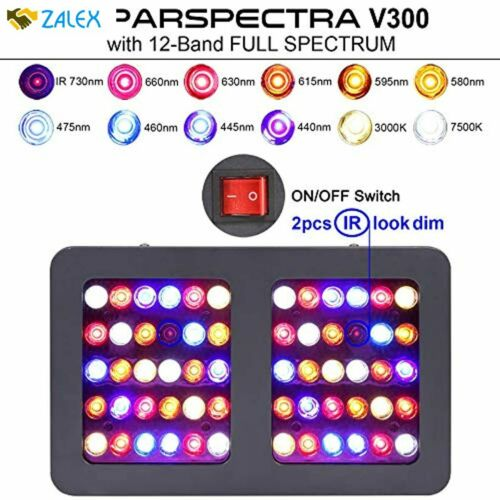 VIPARSPECTRA UL Certified 300W LED Grow Light with Daisy Chain Full Spectrum P