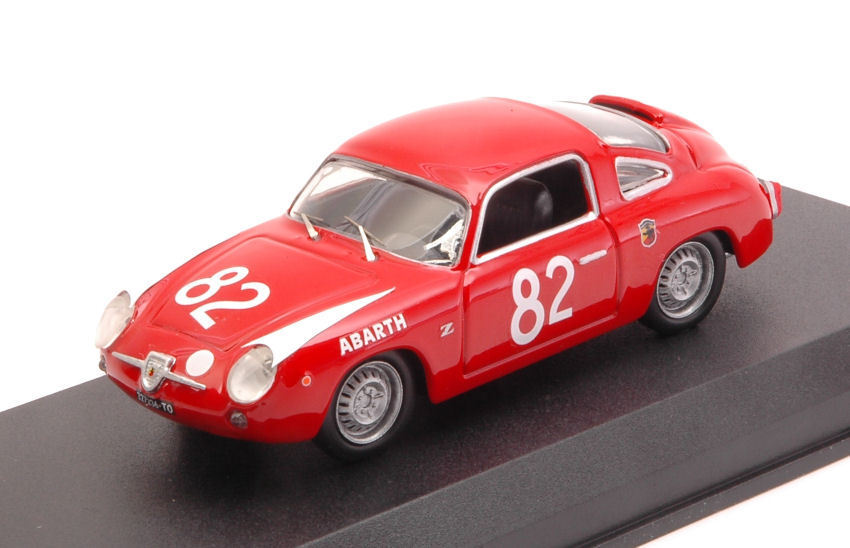 Fiat Abarth 850 Zagato winner 500 km nurburgring 1960 1 43 Model Best Models