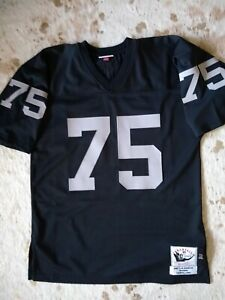 1987 LOS ANGELES RAIDERS HOWIE LONG MITCHELL AND NESS AUTHENTIC ...