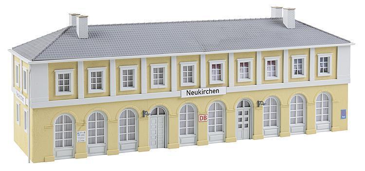 Faller 110119 Ho Stazione Neukirchen   Nuovo in Confezione Originale