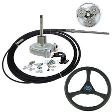 200 HP Rotary 10 ft Cable Outboard Boat Steering System Marine Rib Multiflex 3 m