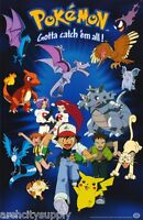 Poster : Tv: Pokemon - Characters Free Shipping 396 Rap17 A