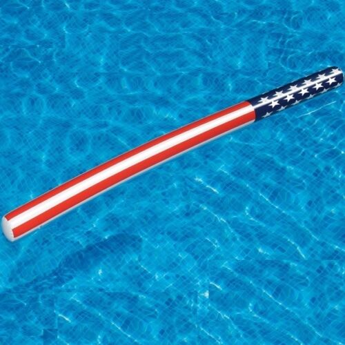 American Doodle Inflatable Pool PATRIOTIC FLOAT Noodles Toy Learn To SWIM 90086