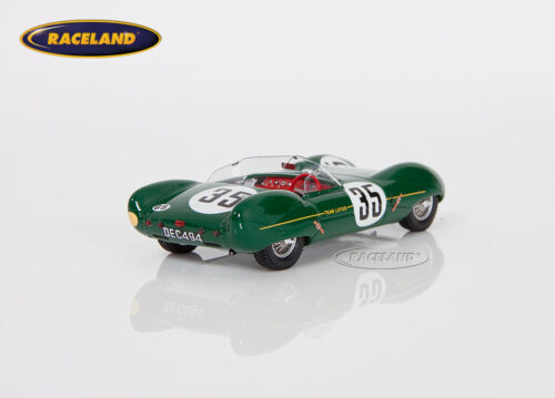 Lotus XI Lotus Engineering Le Mans 1956 Allison//Hall S2184 Spark Modell 1:43