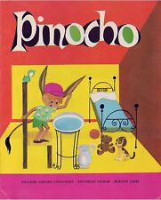 Pinocho (Pinocchio) Spanish Big Book, Pub in Buenos Aires  Editorial Sigmar