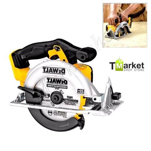 """DEWALT Pro Circular Saw Tool 6-1//2/"""" 20V Scroll Cordless Powerful Cutting Durable"""