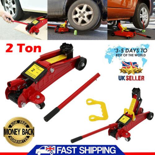 2 Ton Trolley Jack Stand Hydraulic Lift Car Van Jeep Lifting 2 Tonne Floor Jack