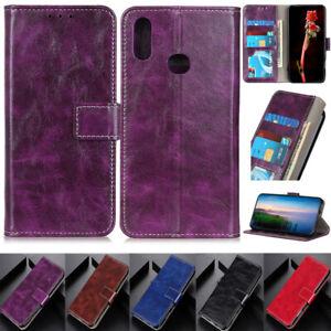 Retro Wallet Leather Flip Cover Case For Motorola Moto G9 Play G50 G30 G10 G100