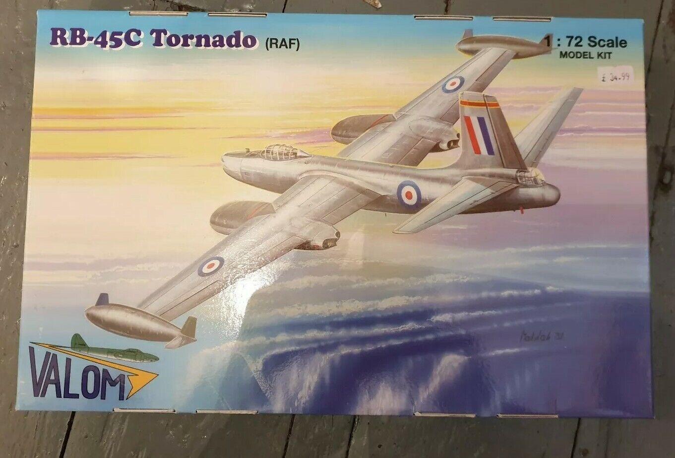 Vellum 72123 RB 45C Tornado RAF