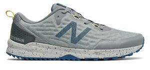 New-Balance-Hommes-assembles-V3-Chaussures-Gris-Avec-Bleu
