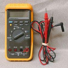 Fluke 87 Multimeter Withleads Used