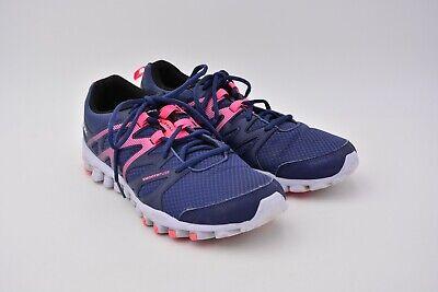 Reebok Femmes Realflex Train 4.0 Entraînement Chaussures bleu encre taille us 10.5 utilisé | eBay