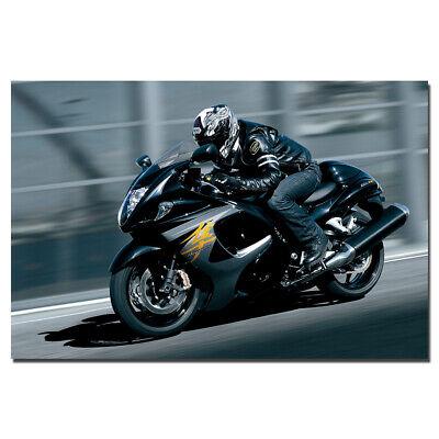 "Hayabusa Sportbike Poster 24/""x 36/"" HD"