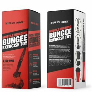 Muscle Building Bungee Exercise Toy - Spring Pole - BULLY MAX OFFICIAL UK DEALER