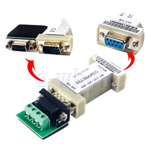 Rs232 to rs485 9 pin data communication interface adapter rs232 to rs485 9 pin data communication interface adapter converter for ptz cctv sciox Images