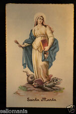 ANTIGUA POSTAL SANTA MARTA . OLD SAINT MARTHA POSTCARD . SEE MY EBAY SHOP CCER71