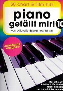 Klavier-Noten-Piano-gefaellt-mir-10-50-CHART-und-FILM-HITS-Spiralbindung
