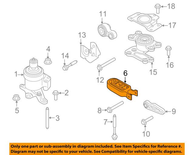 lincoln ford oem mkx engine motor transmission torque arm mount rh ebay com