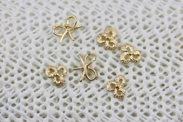 Scrap Gold - 2.4 Grams 14k - Yellow Gold Decorative Pieces for Making Jewelry