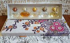 FRAGONARD NEW Set 5 parfums SOLEIL DE COLLECTION (5 x 7 ml) +GIFT Atomizer