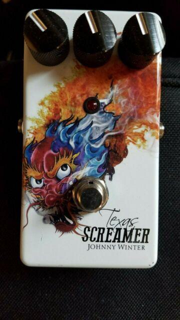 Big Joe Stomp Box B-309 Johnny Winter Texas Screamer Overdrive Pedal USA