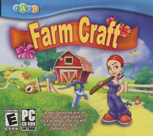 Details about FARM CRAFT iWin Garden Farming Sim PC Game XP/Vista NEW
