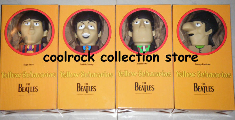 Classic Beatles Figures Set w box 400% (28cm)