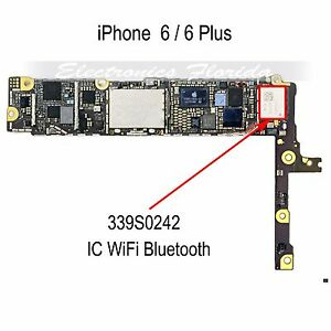WiFi IC 339S0242 Part Replacement for iPhone 6/6Plus b587