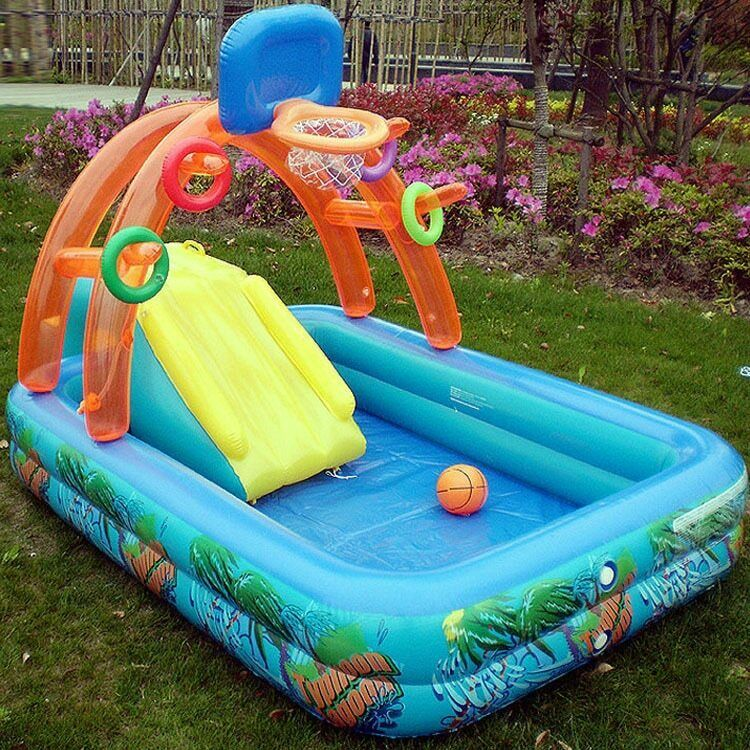 Inflatable Family Adults Swimming Pool Garden Tub Children Summer Pools Tubs Set