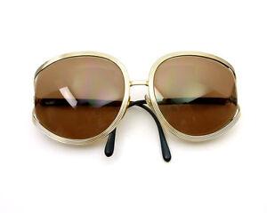 e01c53acc Vintage Anos 80 Óculos de Sol Christian Dior Armação De Metal ...