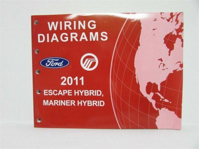 2011 Ford Escape  U0026 Mercury Mariner Hybrid Electrical