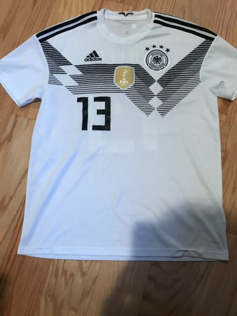 Adidas Germany DFB 2018 Home Men Soccer Jersey White