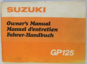 Suzuki-GP125-Sep-1977-99011-39620-Motorcycle-Owners-Handbook