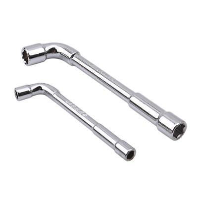 6mm//10mm L-Type Angled Socket Wrench Double Ended Nut Spanner Steel QK
