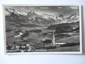 Ansichtskarte-Gebirgsblick-v-Pension-Kuehberg-Seifriedsberg-Nr-703