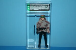 Star Wars Vintage Afa Graded Luke Bataille Ponch 84 No Coo Figure Arme Kenner Fv